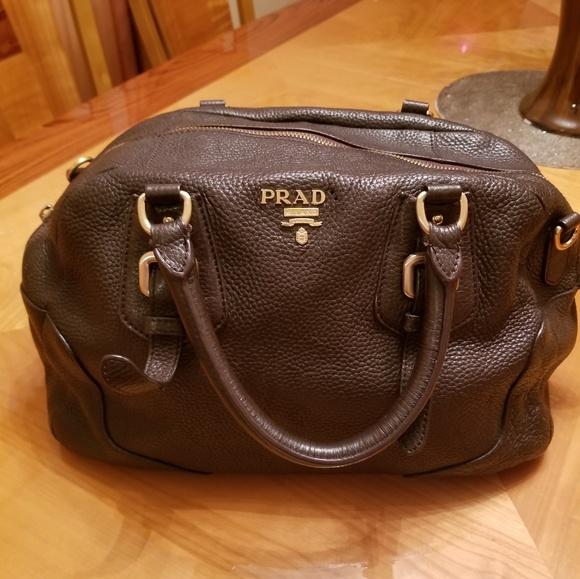 01bb2c44 Small Tote Vintage Prada Bag